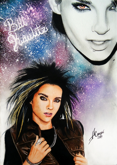 Bill Kaulitz by Twincestoxa